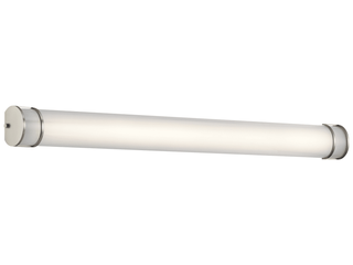Kichler lighting Transitional 48 inch Brushed Nickel lED linear Bath Vanity light  Retail 299 95