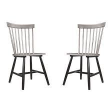 The Gray Barn Petra Rustic Dining Chair  Set Of 2  Retail 129 99