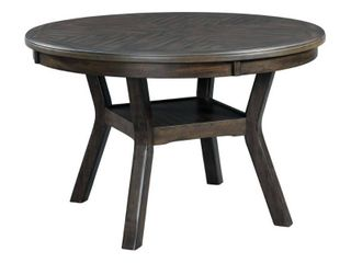 Taylor Standard Height Dining Table Walnut   Picket House Furnishings