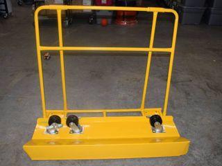 Sheetrock Cart   Missing a Caster