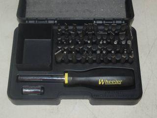 Wheeler Screwdriver Kit