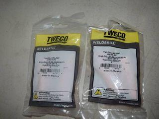 4 Tweco Nozzles