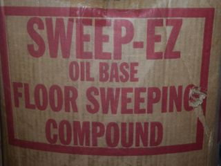 Sweep Eze Oil Base Floor Sweeping Compound
