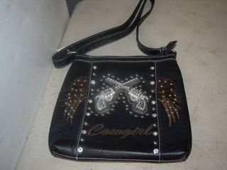Cowgirl leather Cross Body Purse