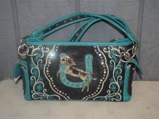 Horse Conceal and Carry Purse   The zipper in the back holds your handgun