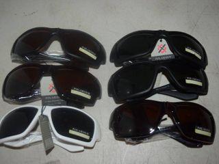 6 Pairs Sunglasses
