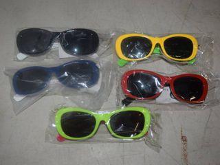 5 Pairs Kids Sunglasses