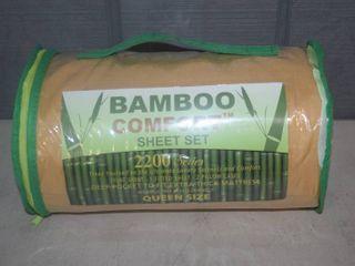 Bamboo Comfort Queen Size Sheet Set