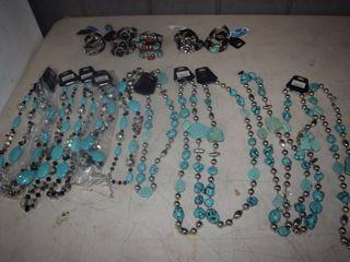24 Pieces Turquoise Jewelry