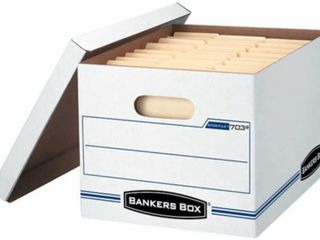 12 Pack Bankers Box 703 with lids