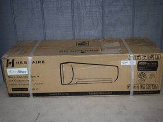 Hessaire Ductless Mini Split Air Conditioner   Indoor Unit Only