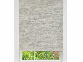 Porch  amp  Den Atwater Jute Cordless Privacy Window Shade  Set of 2