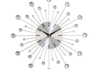 Carson Carrington Alavus Metal Wall Clock 15  x 15