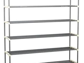 Home Complete  Shoe Organizer with 5 Shelves