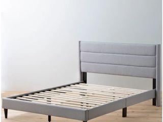 Brookside Sara Upholstered Full Size Bed  Stone