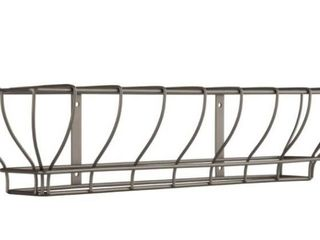 Burned Of Boaton 18  Vintage Wire Wall Mount Rack 18x4