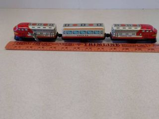 SANTA FE toy train  wind up