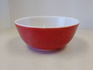PYREX Red 4 qt ovenware bowl