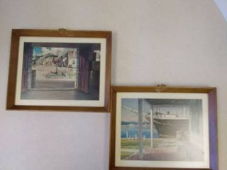 WHARF SCENE Prints in frames  Mystic Seaport  Connecticut
