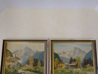 Framed paintings made in Germany