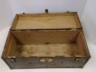 APEX Wood and Metal Box with handle