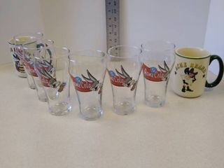 ACME WB Soda Glasses and coffee mugs