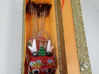 Chinese Dragon kite in box  untested