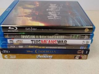 lot of Blue Ray DVD Movies