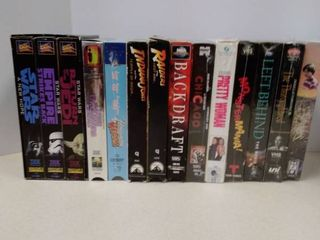 lot of various VHS Movies