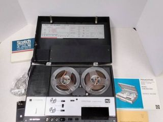 Panasonic Solid State 4 Track Tape Recorder