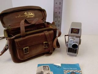 Bell   Howell 8MM Electric Eye Camera with leather case
