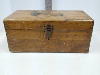 Wood tool or tackle box