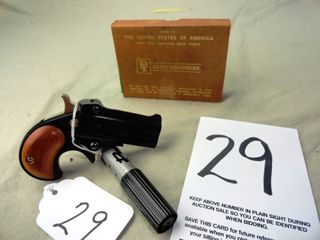 29  Davis DM 22 OU Derringer  22 Mag  SN 537715  Blue  HG