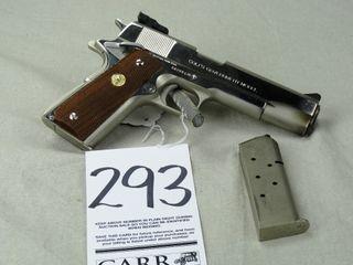 Colt MK IV Series 70  Gov t Model  45 Auto  Nickel Finish  SN 58299G70  HG