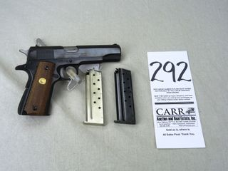 Colt MK IV Series 70  Gov t Model  9mm  SN 70l28770  HG