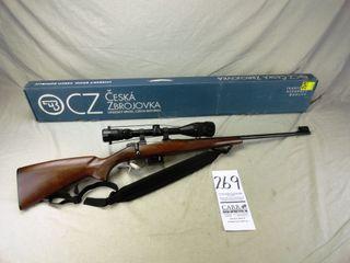 269  CZ 527  Bolt  222 Cal  SN 82525 w Scope Millet 6x18   Box
