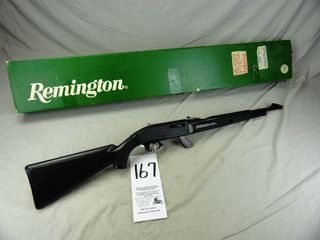 167  Remington Nylon 77  Auto  22 Cal  SN A2347639  Apache Green  Clip w Box