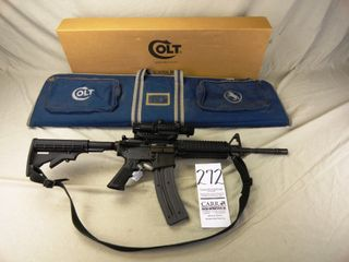 272  Colt M4 Carbine  Auto  22 Cal  SN BP006036   2  Clips   Scope w Box