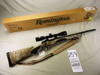 259  Remington 700 VTR  Bolt  308 Cal  SN G6817528  Triangle Bbl  Digital Camo Stock w Scope   Box