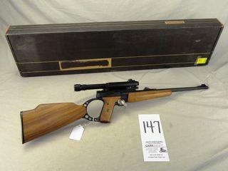 147  Browning Buckmark  Auto  22 Cal  SN 213ZZ01738  Pistol Rifle Rare Aimpoint Mark III  Scope w