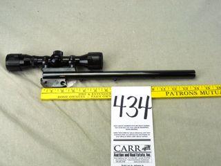 TCA Super 14  30 Herrett  14  Bull Bbl  w Swift 4x32 Scope  EX