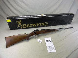 148  Browning Mod  52  Bolt 22  SN 00521NZ496  Sport Rare  5000 Made  Unfired w Box