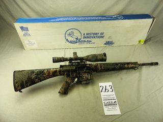 263  Armalite AR 10A4  Auto  243 Cal  SN US563669  Camo leupold Scope w Box