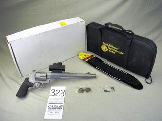 S W M 500 Performance Center  500 S W Mag w Tru Glo Sight  10 1 2  Bbl  w Compensator  SN CSU8589 w