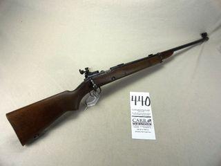 Winchester M 52  22lR w Redfield Peep  SN 37635