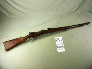 251  Mauser 98  Bolt  8mm  SN 9062  1915