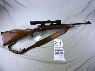 214  Remington 700 BDl  Bolt  243 Cal  SN A6852937 w Burris Scope