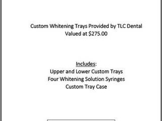Tooth Whitening Package