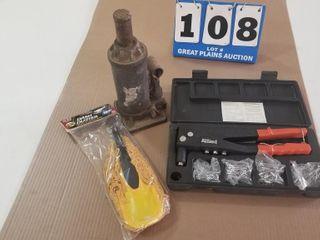 Bottle Nosed Jack  Pop Rivet Gun    Duster