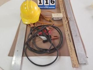 Extension Cord  Jumper Cables  Hard Hat   More